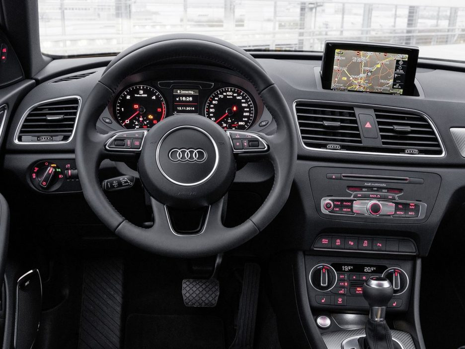 Audi Q3 restyling interni
