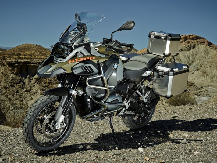 BMW R 1200 GS Adventure 2014 - Stile