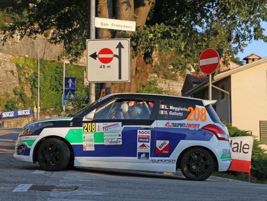 Lisa Meggiarin Suzuki Swift Rally Friuli 2016