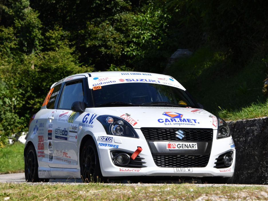 Lorenzo Coppe Suzuki Swift Rally Friuli 2016