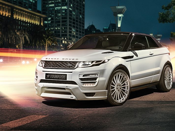Range Rover Evoque Convertible by Hamann
