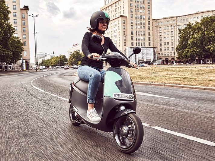 Coup, lo scooter sharing elettrico di Bosch