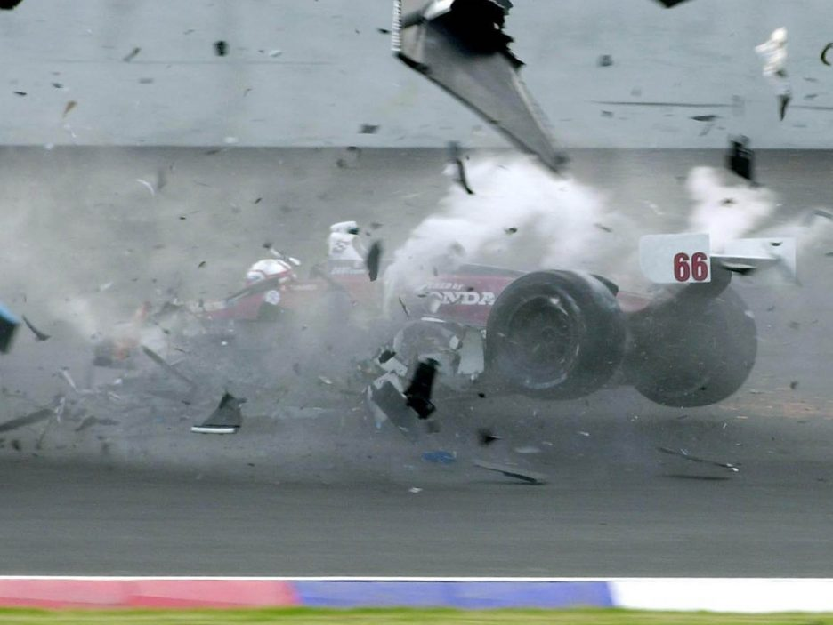 Alex Zanardi incidente 2001