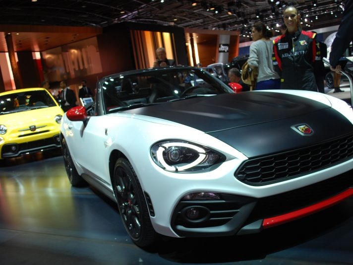 Abarth 124 Spider - Salone Parigi 2016
