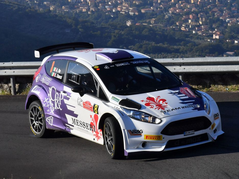 Alessandro Re Ford Fiesta Rally Roma 2016