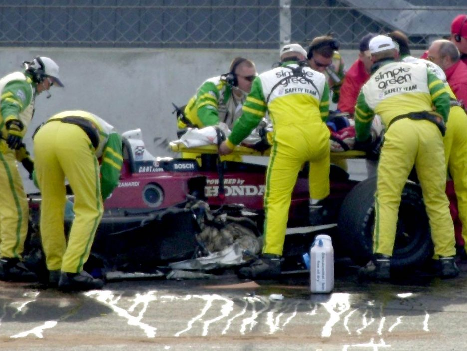 Alex Zanardi incidente 2001 2