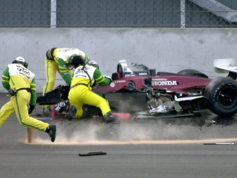 Alex Zanardi incidente 2001 3