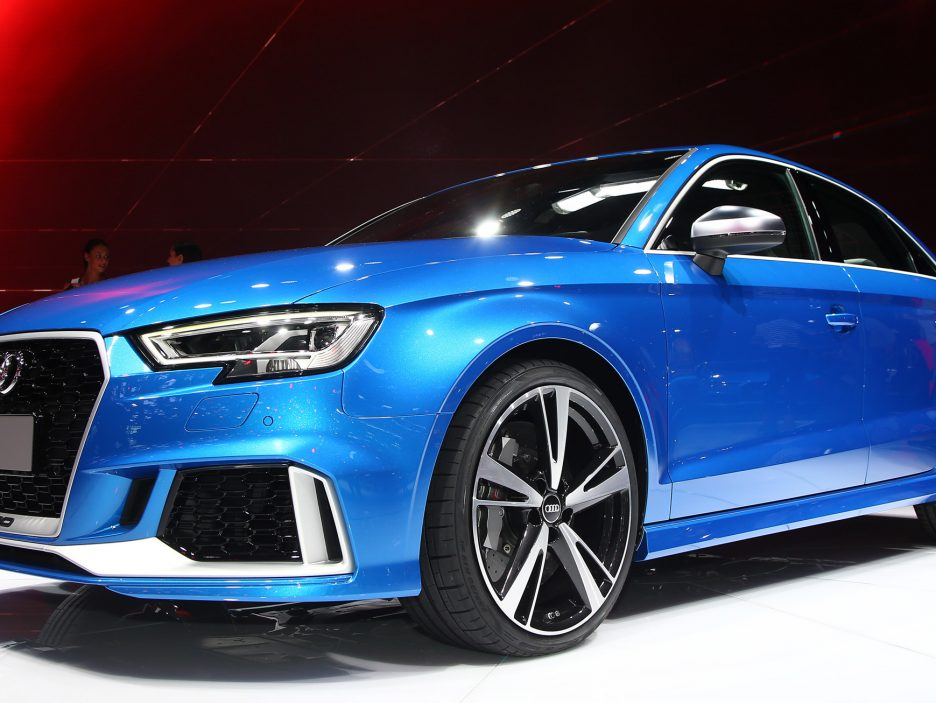 Audi RS3 Sedan - Salone Parigi 2016