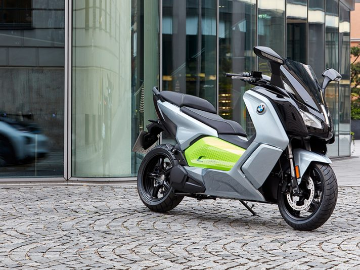 BMW C evolution 2017, il debutto a Parigi