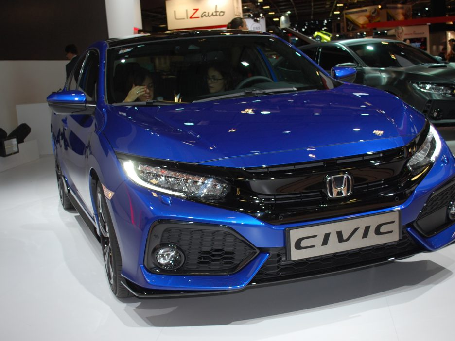 Honda Civic 2 - Salone Parigi 2016
