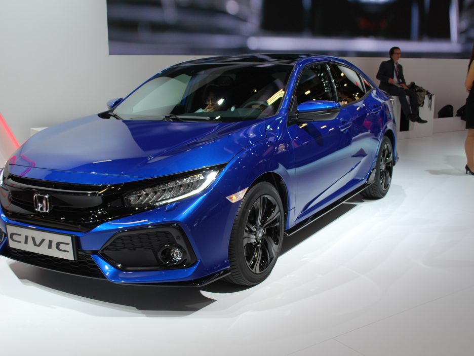 Honda Civic 3 - Salone Parigi 2016