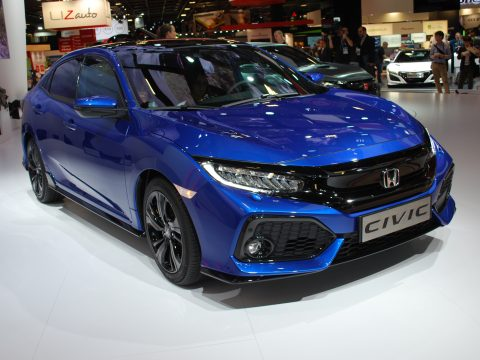 Honda Civic - Salone Parigi 2016