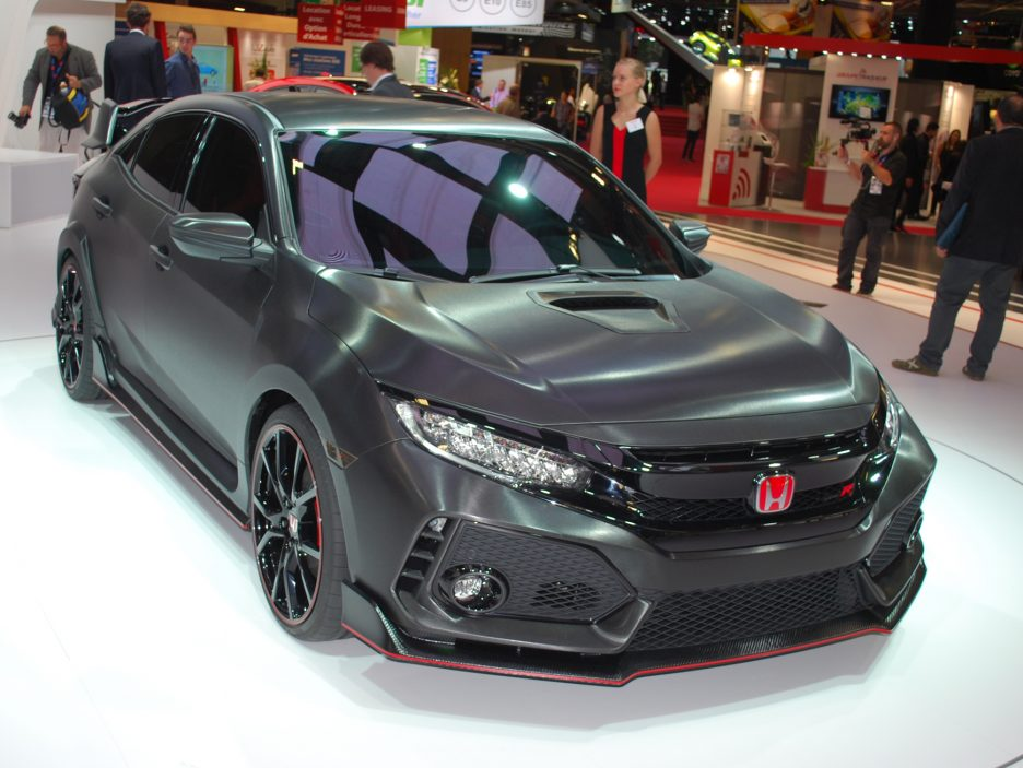 Honda Civic Type-R Concept 3 - Salone Parigi 2016