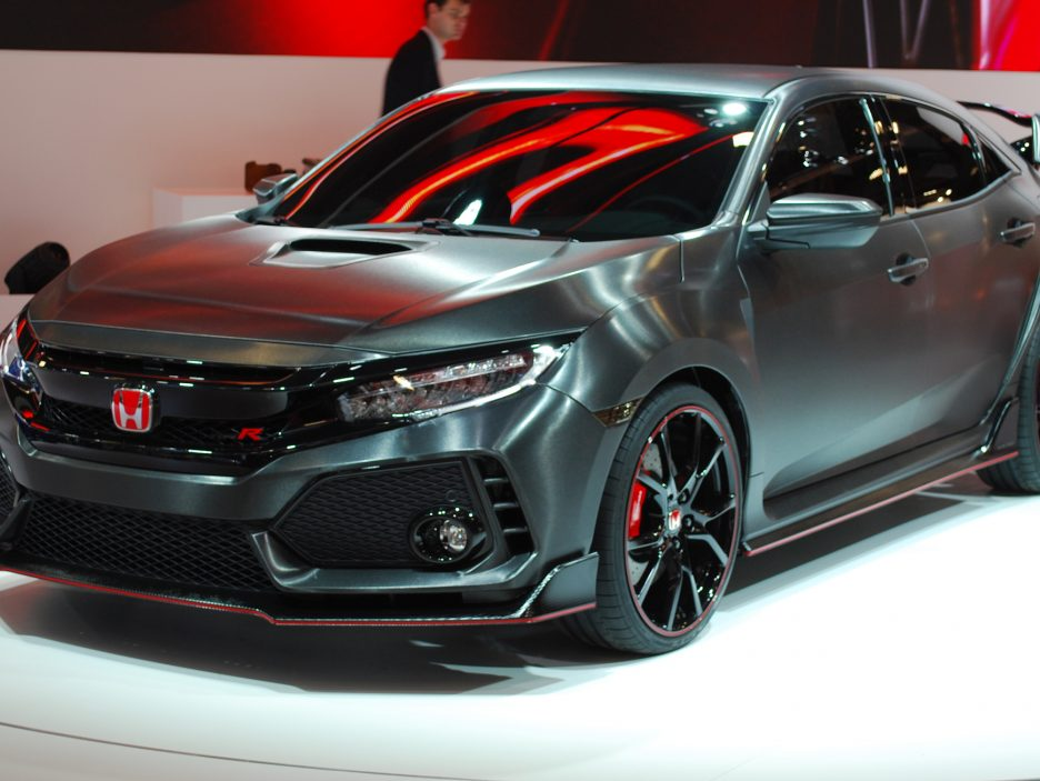 Honda Civic Type-R Concept - Salone Parigi 2016
