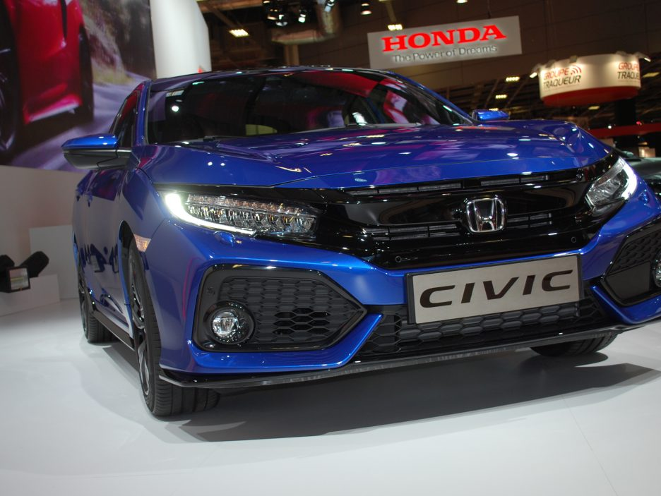 Honda Civic mascherina - Salone Parigi 2016