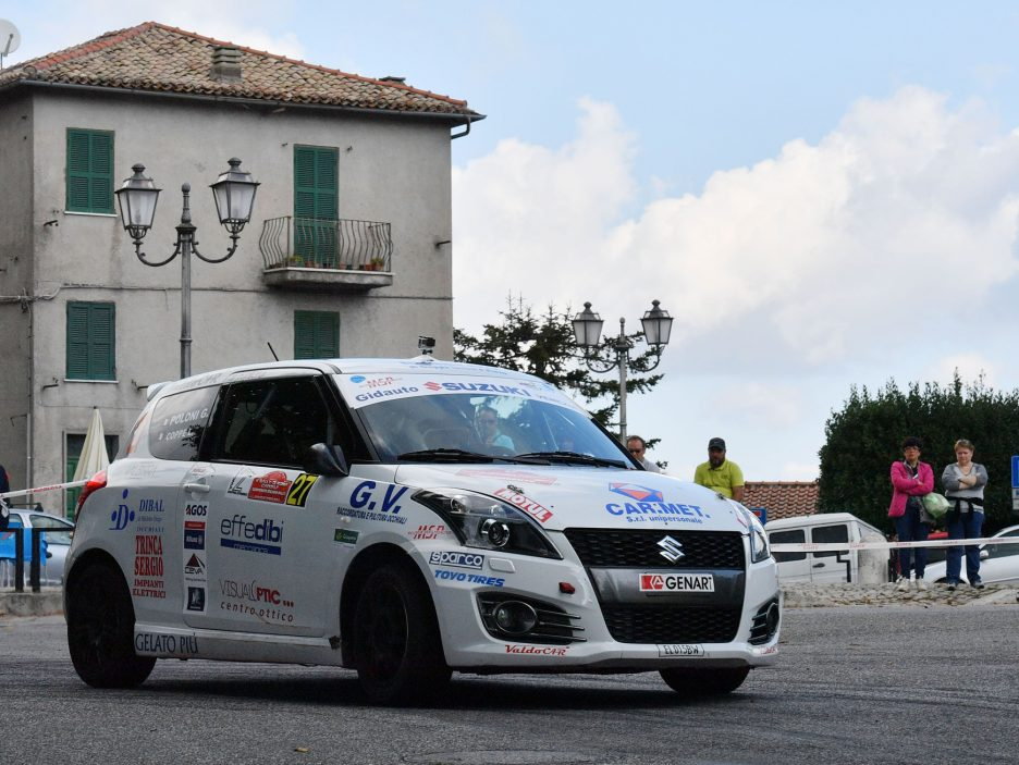 Lorenzo Coppe Suzuki Swift Rally Roma 2016