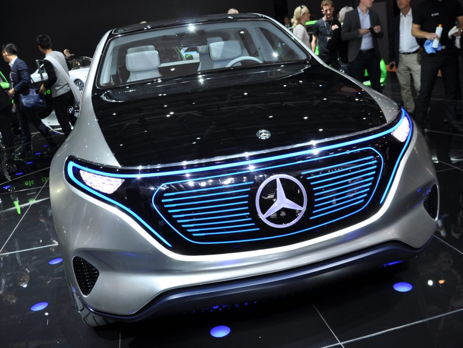Mercedes Generation EQ 2 - Salone Parigi 2016