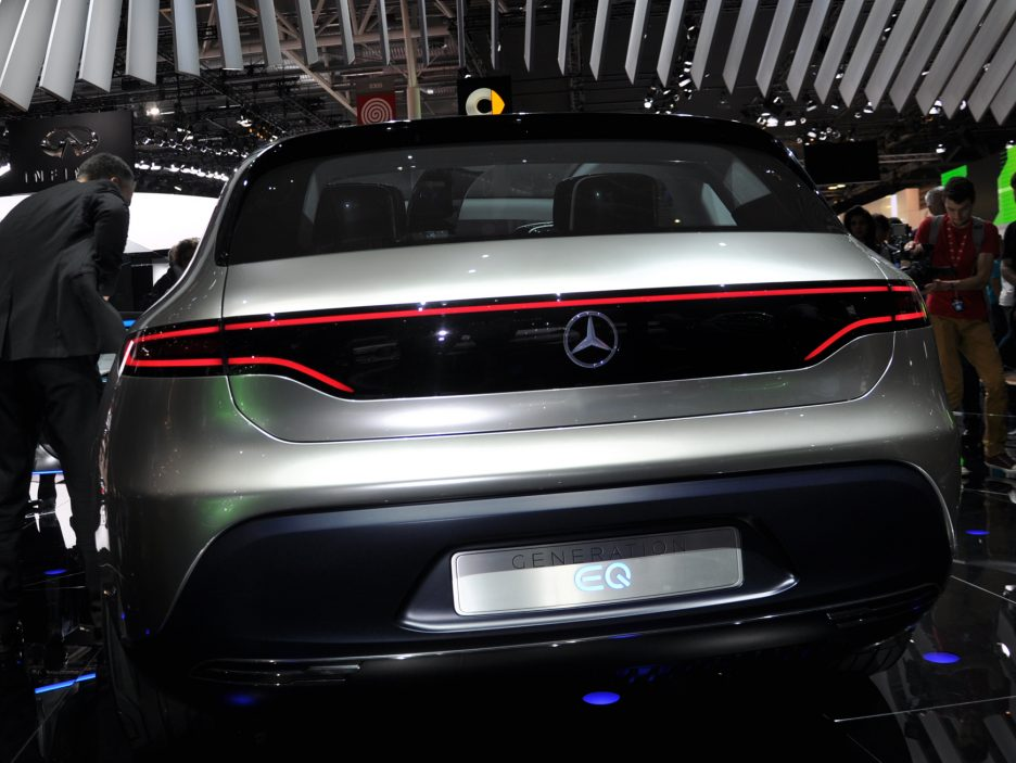 Mercedes Generation EQ coda - Salone Parigi 2016