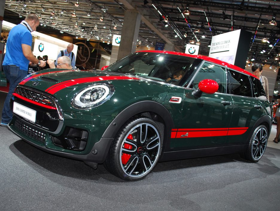 Mini Clubman John Cooper Works 3 - Salone Parigi 2016