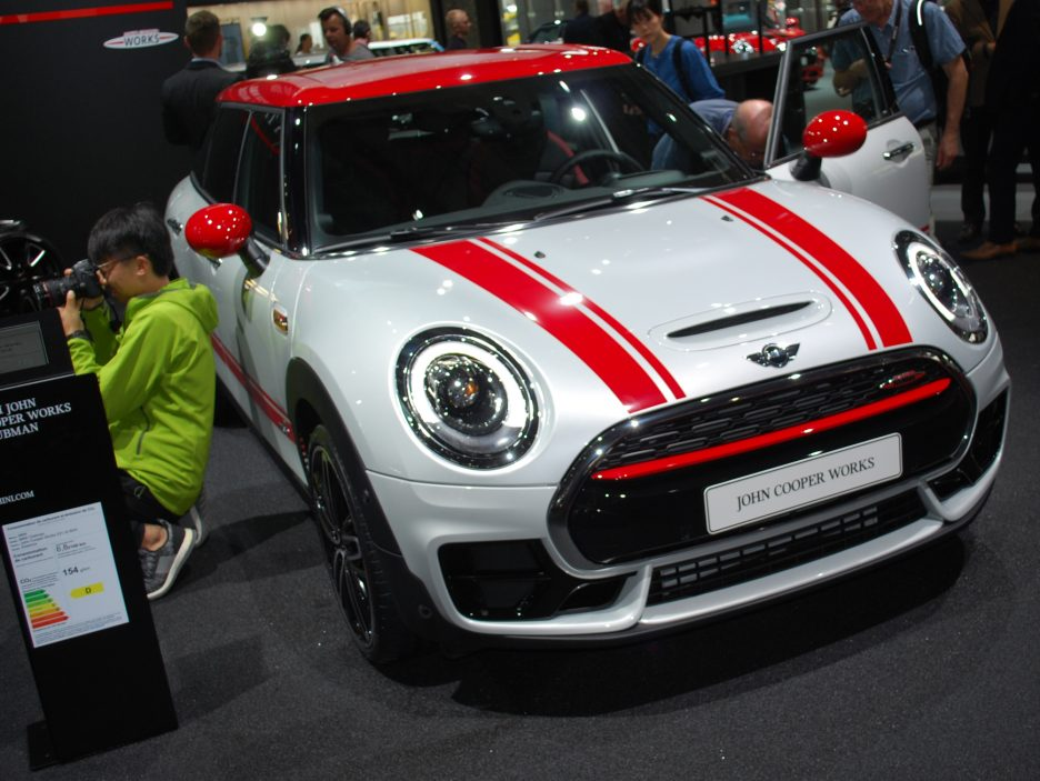 Mini Clubman John Cooper Works - Salone Parigi 2016