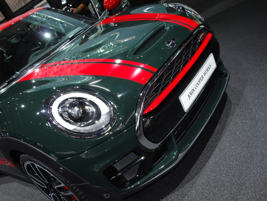 Mini Clubman John Cooper Works mascherina - Salone Parigi 2016