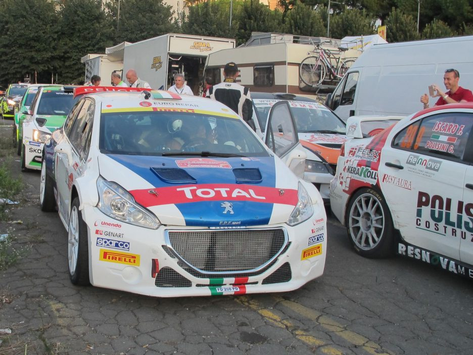 Paolo Andreucci Peugeot 208 Rally Roma 2016