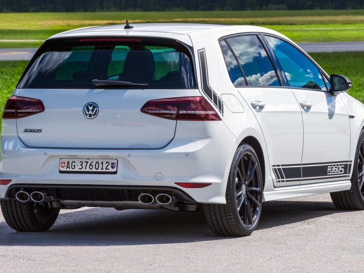 Volkswagen Golf R360S, in collaborazione con ABT