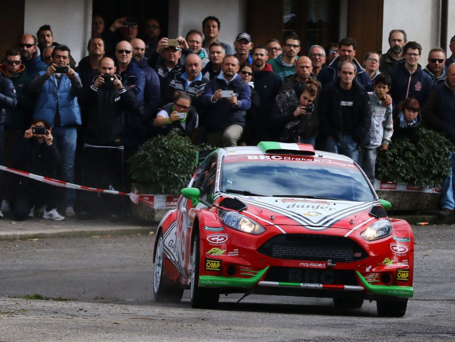 Basso Ford Fiesta Rally Due Valli 2016