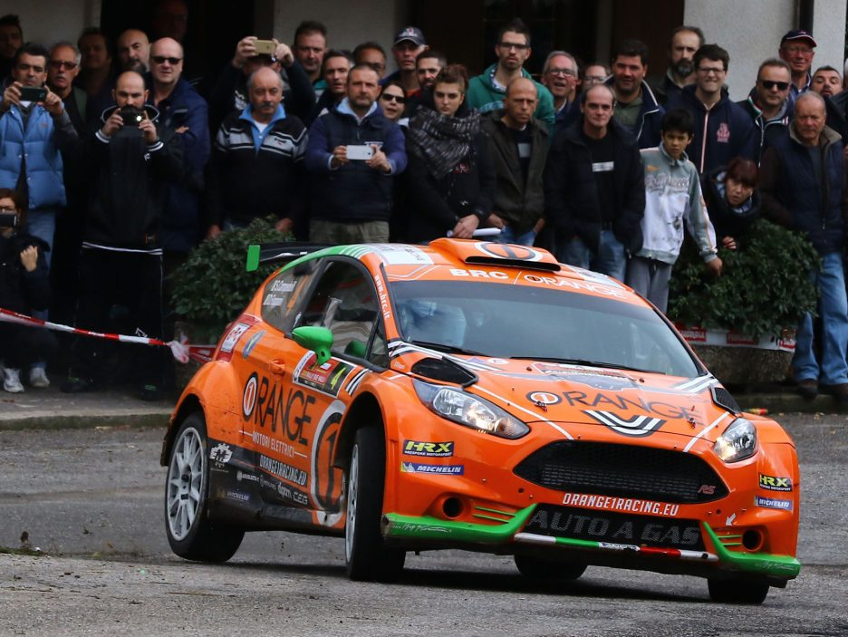 Campedelli Ford Fiesta Rally Due Valli 2016