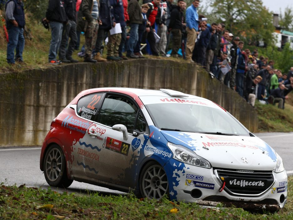 Mazzocchi Peugeot 208 Rally Due Valli 2016