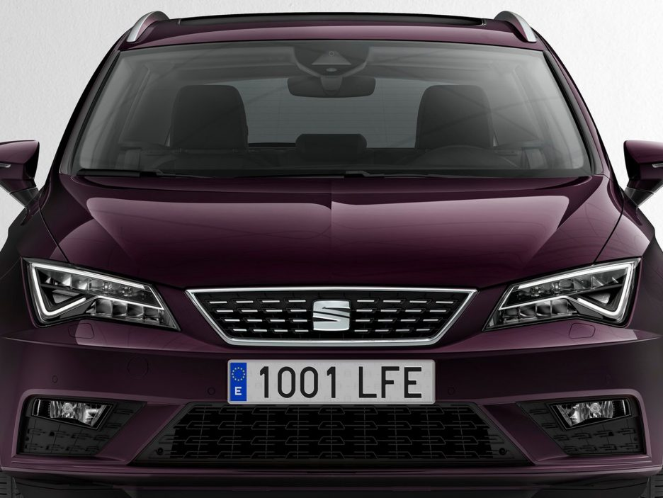 Seat Leon ST restyling frontale