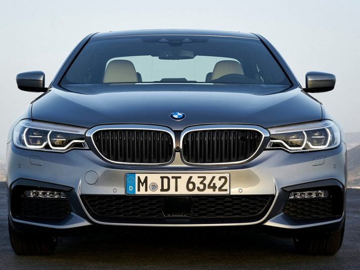 BMW serie 5 2017 frontale