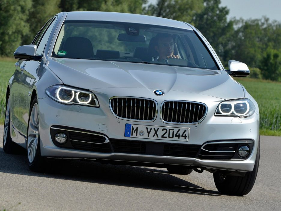 BMW serie 5 frontale