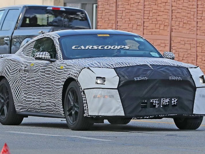 Ford Mustang 2018, le foto spia