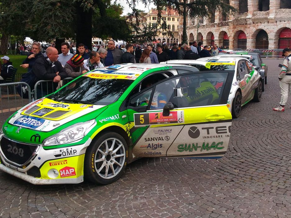 Perico Peugeot 208 Rally Due Valli 2016