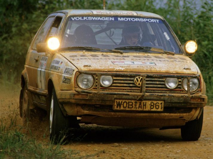 1987 - Volkswagen Golf Rally