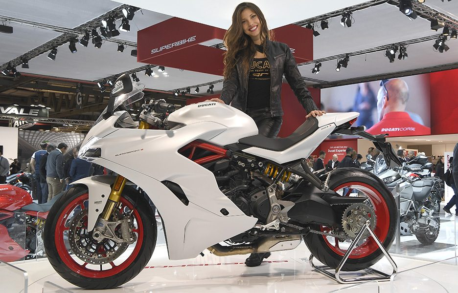 "Ducati SuperSport, la ""più bella di Eicma 2016"""