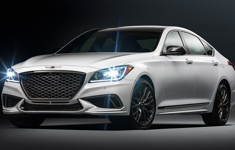 Genesis G80 3.3T, il debutto a Los Angeles