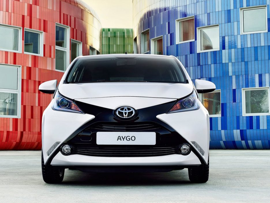Toyota Aygo frontale