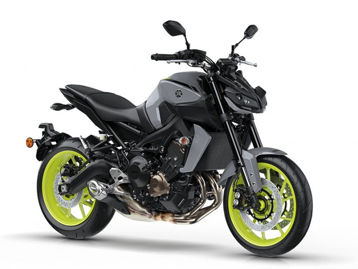 Yamaha MT-09 e MT-10 SP 2017