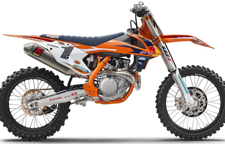 KTM 450 SX-F FACTORY EDITION MY 2017_right