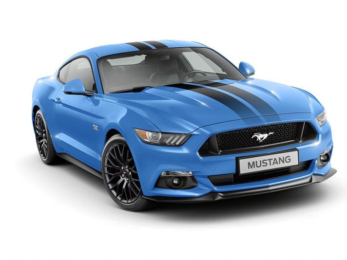 Ford Mustang, Black Shadow e Blue Edition