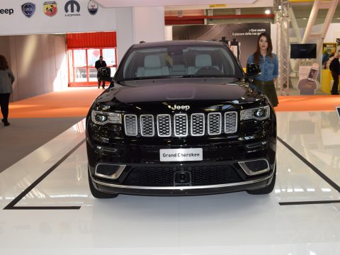 Jeep Grand Cherokee MY17 frontale - Motor Show 2016