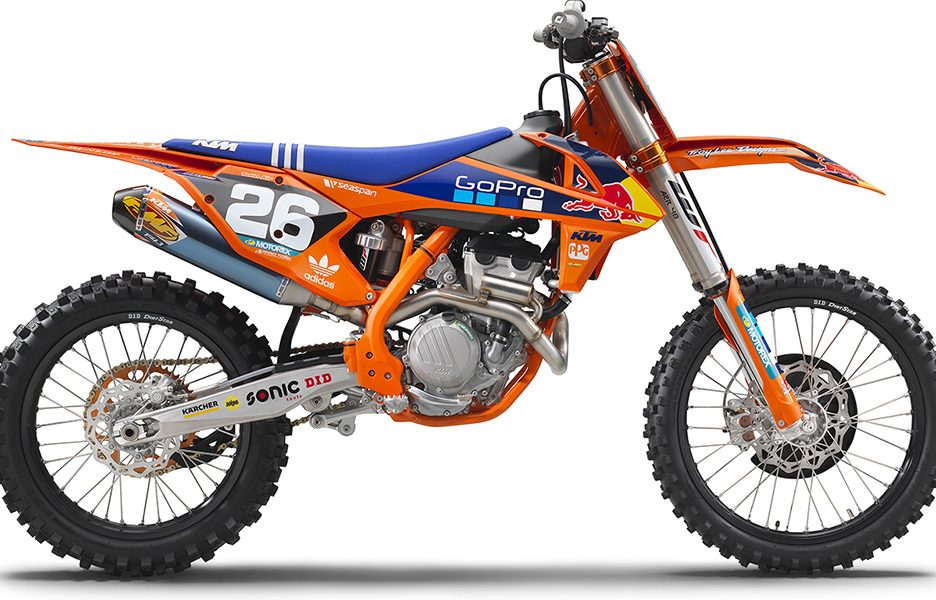 KTM 250 SX-F FACTORY EDITION MY 2017_right