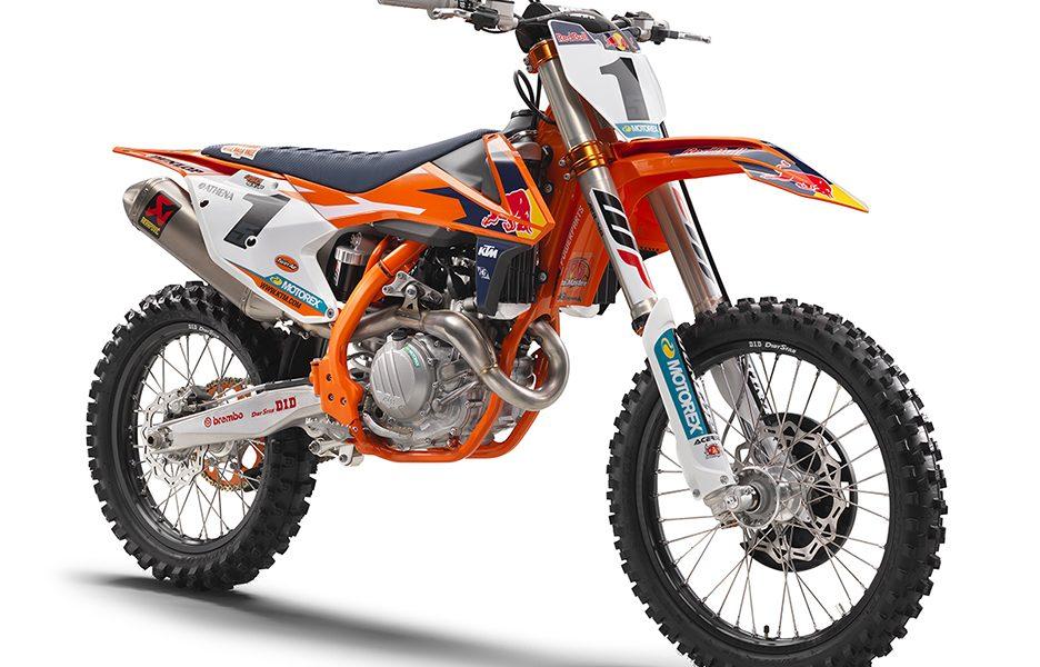 KTM 450 SX-F FACTORY EDITION MY 2017_front