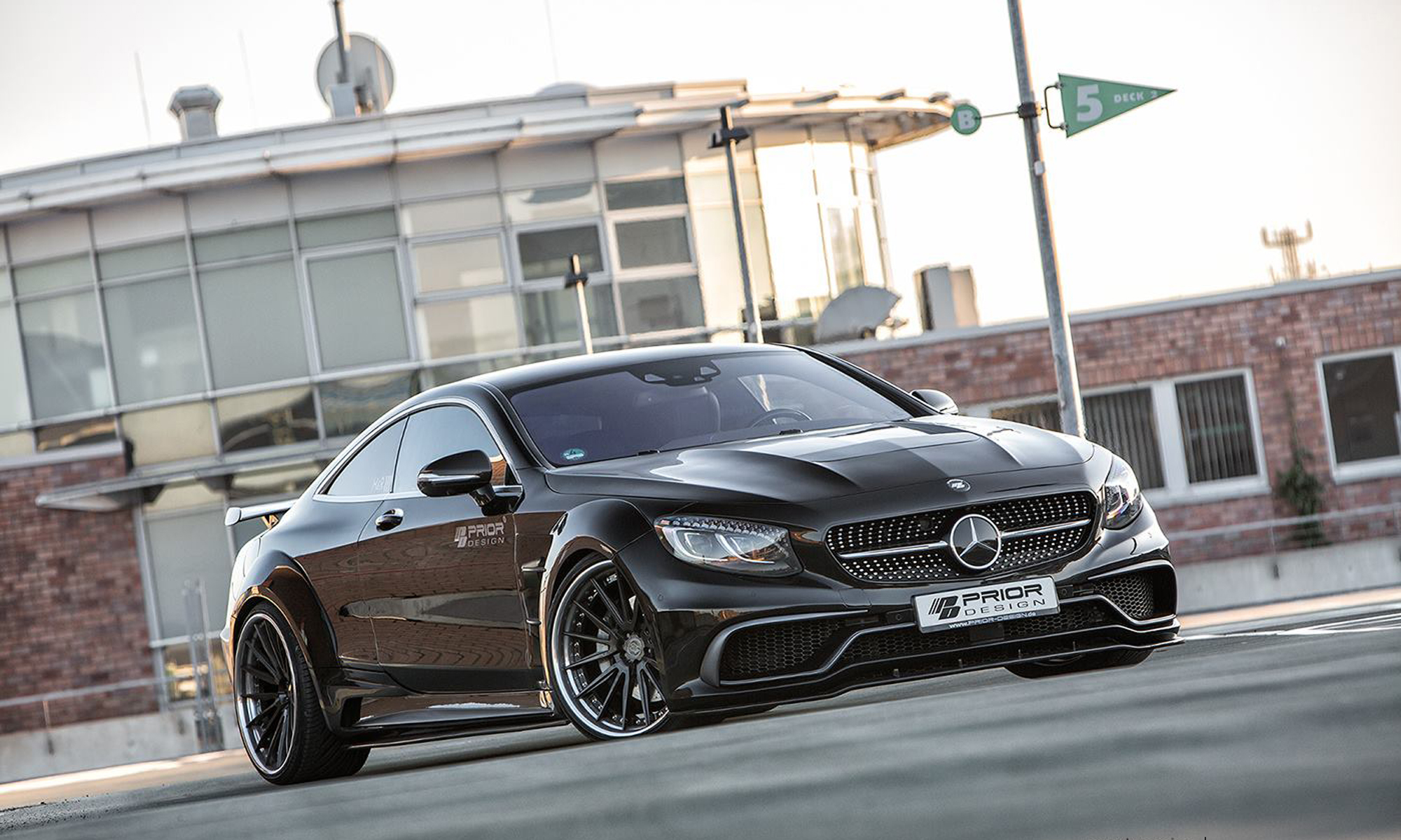 mercedes classe s coup by prior design tuning panoramauto. Black Bedroom Furniture Sets. Home Design Ideas