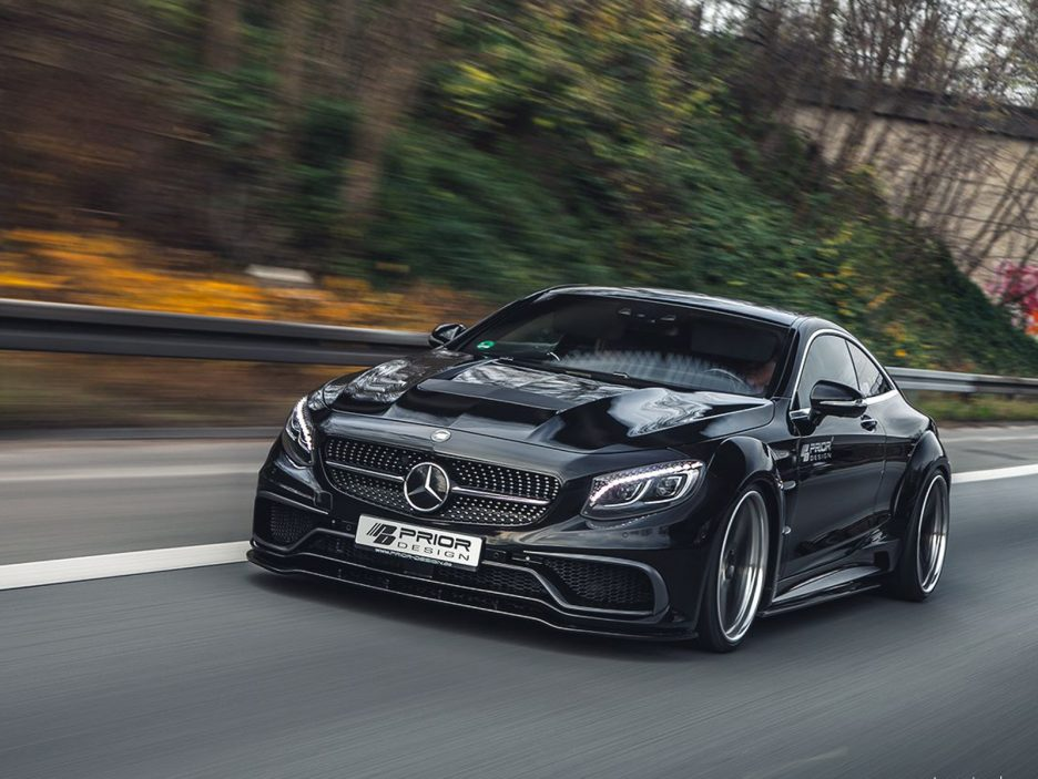 Mercedes Classe S Coupé by Prior Design