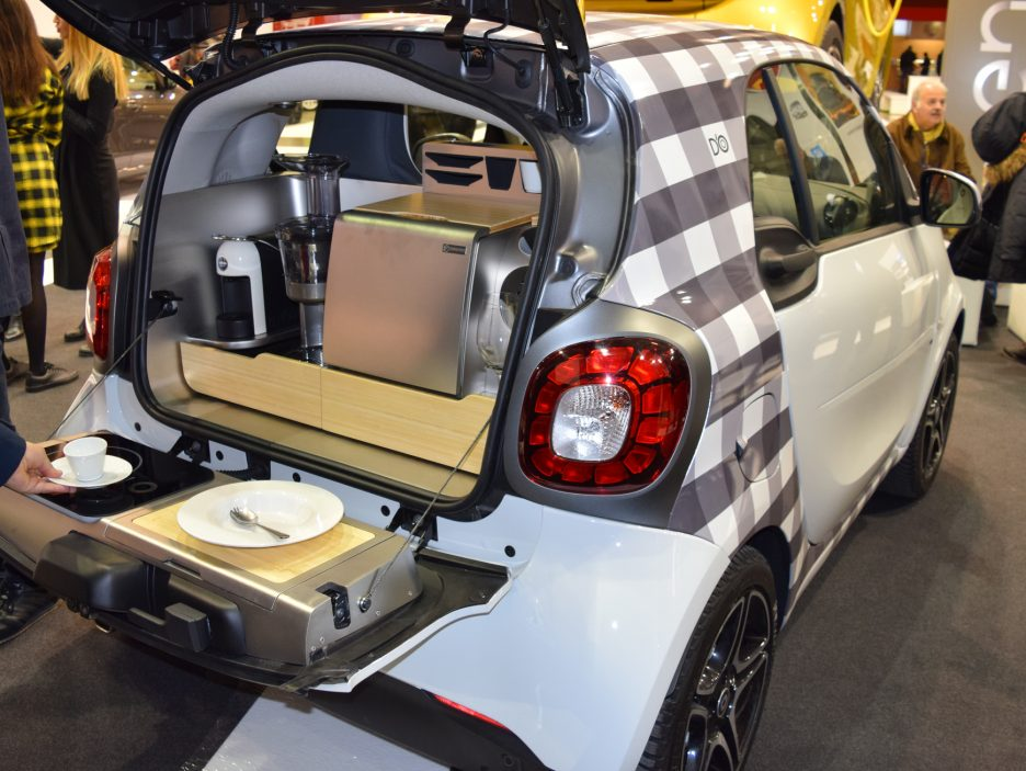 Smart forfood bagagliaio 2 - Motor Show 2016