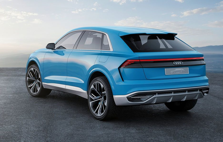 audi q8 concept il suv coup atteso nel 2018 detroit 2017 panoramauto. Black Bedroom Furniture Sets. Home Design Ideas