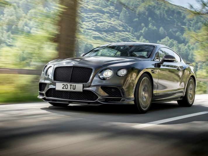 Continental Supersports: la Bentley più potente di sempre